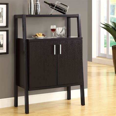 monarch specialties i 2544 wine storage bar cabinet atg