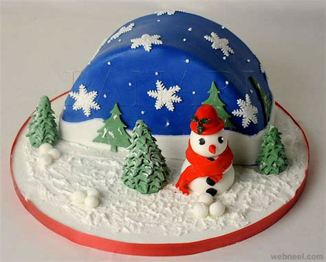 christmas decorated cake ideas 25 beautiful cake decoration ideas and design exles