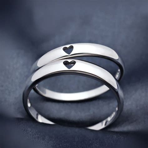 25 best ideas about couples promise rings on
