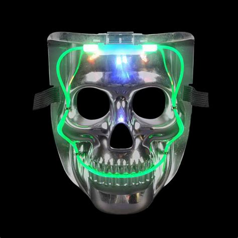 light mask led skull mask light up mask led