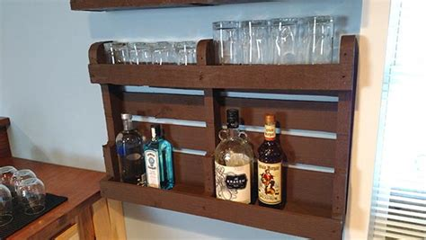 how to build a liquor cabinet diy pallet wood liquor cabinet home construction improvement
