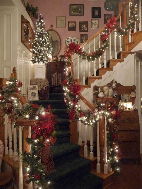 Decorating A Banister by Heirlooms Banister