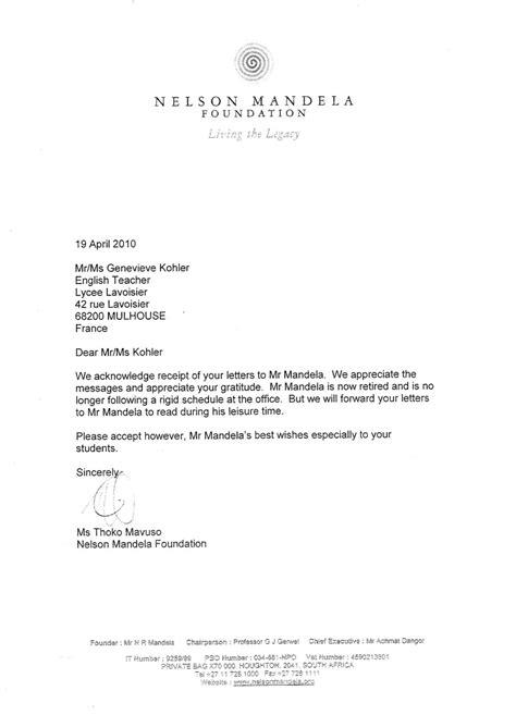 Exemple Lettre De Chateau Remerciement Exemple De Lettre De Remerciement En Espagnol Covering Letter Exle