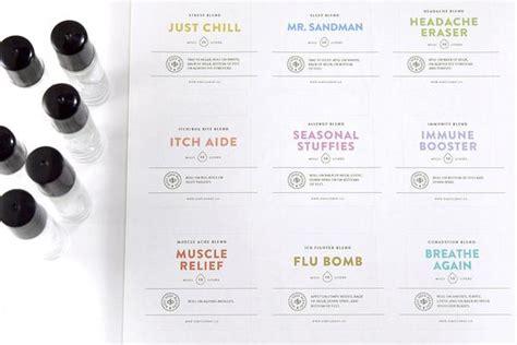 Diy Printable Essential Oil Rollerbottle Label Set Simple Drop Co Essential Bottle Label Template