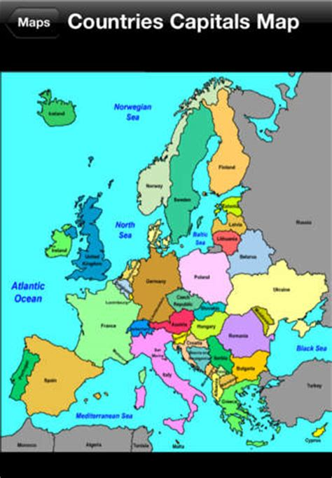 world atlas europe capital cities map learn europe countries and capitals on the app store