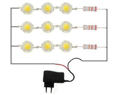 dioda ir jak działa schematy połączeń diod powerled 1w