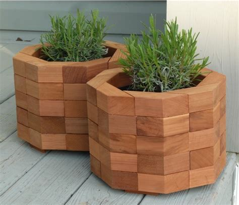 Planter Box by Items Similar To Octagonal Cedar Planter Box On Etsy