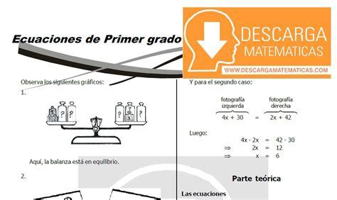 texto de matematica para primer grado de secundaria 2016 peru descargar ecuaciones de primer grado 193 lgebra segundo de