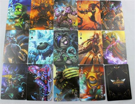 League Of Legends Gift Cards - league of legends lol playing cards poker deck gift cosplay good qual