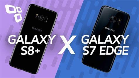 comparativo samsung galaxy s8 vs samsung galaxy s7 edge tecmundo