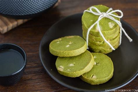 new year green tea cookies luck cookies for your new year s ludy s kitchen