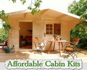 cheap cabin ideas affordable cabin kits