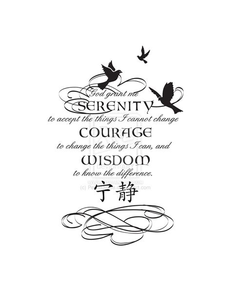 serenity prayer tattoo designs 1000 images about serenity prayer on serenity