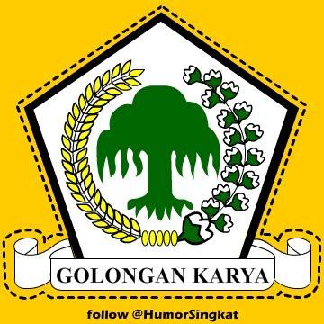 logo partai golkar golongan karya gambar profile