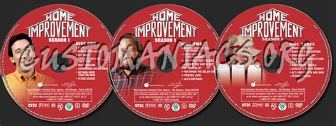 home improvement season 1 dvd label dvd covers labels