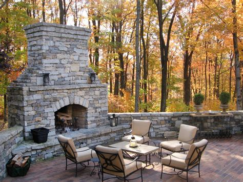 Brick Fireplace Design Ideas Outdoor Fireplace Decor