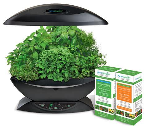 aerogarden  gourmet herb grow  kit hydroponic