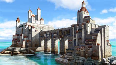 Gothic Wallpaper For Walls sea castle by skaya3000 on deviantart