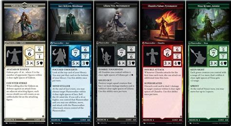 arena of the planeswalkers board magic the gathering