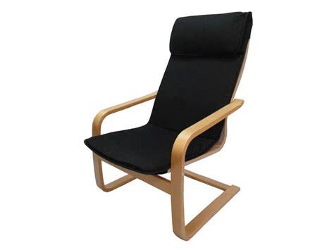 chaise à bascule allaitement fauteuil en tissu paz coloris noir vente de tous les