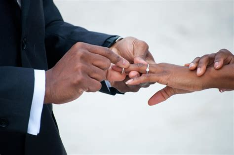 wedding ring finger in nigeria which finger is the right