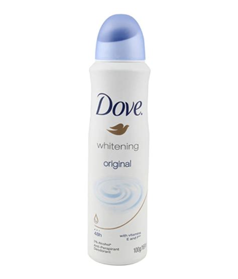 Harga Dove Whitening Silk Spray dove whitening silk deodorant spray 169 ml 28for best