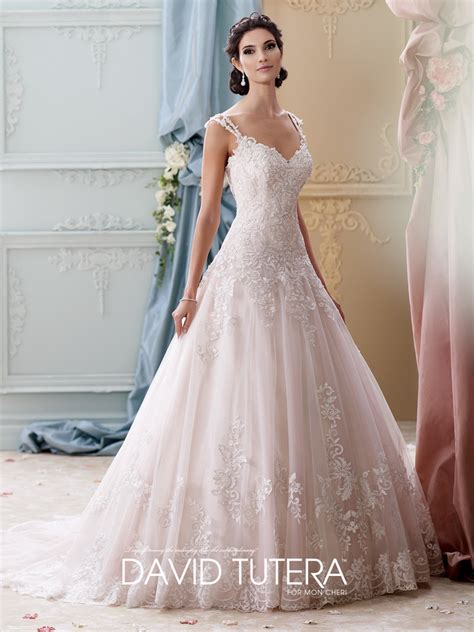 brautkleider in rosa david tutera wedding dresses 215277 arwen