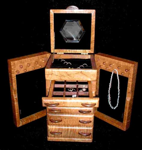 Wooden Jewellery Boxes Handmade - 58 best images about jewelery boxes on