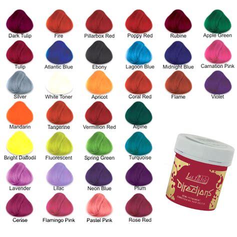 how to colour hair semi quasi permanent color easy la riche directions semi permanent hair colour dye all