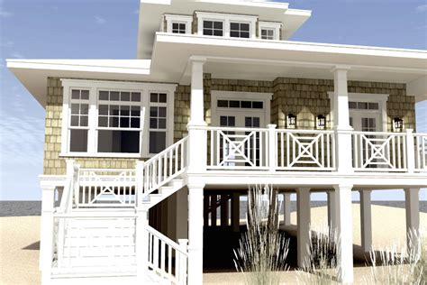 Oceanfront House Plans 3 Bedrm 2621 Sq Ft Beachfront House Plan 116 1003
