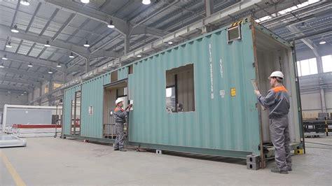 Container Maritime Maison by Modulaire Maison Construction Modulaire Maison Container