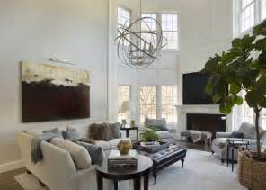 2 story living room 2 story living room transitional living room liz