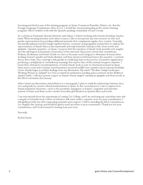 writing a cover letter for an academic position cover letters for academic free