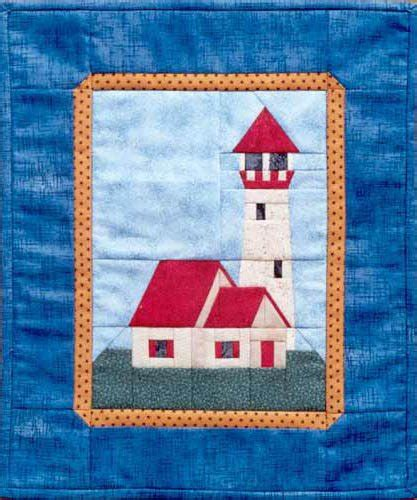 design pattern quantity lighthouse quilt pattern by mh paper pieced designs
