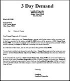 Rent Demand Letter Nyc New York Strict Language Eviction Notice Kit