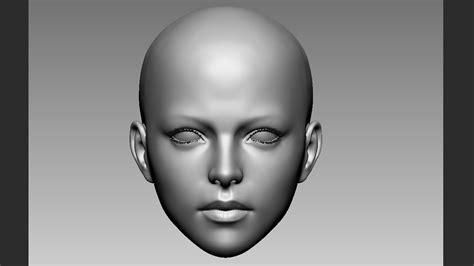 zbrush tutorial female female face zbrush practice 3d pinterest female