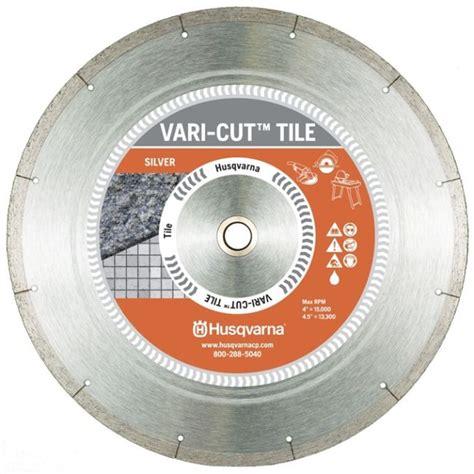 Husqvarna Vari Cut 7 Inch Ceramic Tile Saw Blade