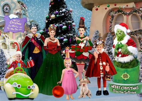 grinch family photo christmas card christmas photo