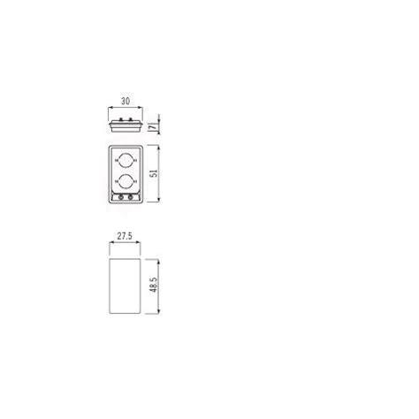 piano cottura semifilo alpes inox piano cottura induzione f5302ei semifilo alpes