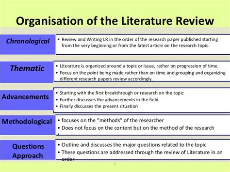 Critical Literature Review Essay by Writing A Critical Literature Review Smart