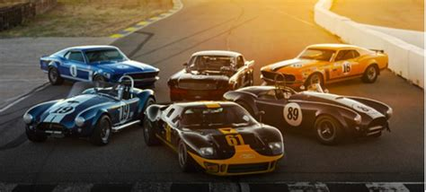 ford racing car 4 million worth of vintage ford race cars headed to auction