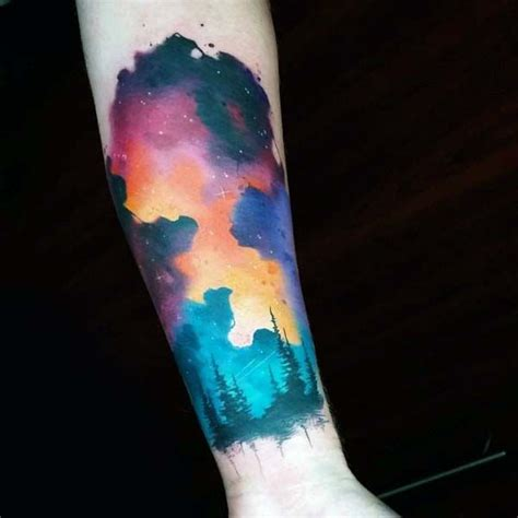 night sky tattoo designs 25 best ideas about sky tattoos on sky
