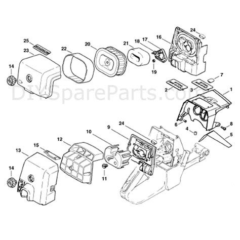 stihl ms 440 parts diagram stihl ms 440 chainsaw ms440 magnum parts diagram shroud