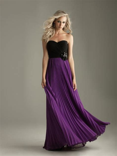 purple and black wedding dress purple bridesmaid dresses to inspire you cherry