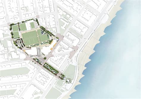 the gardens at eastbourne site plan levitt bernstein selected by eastbourne borough council to
