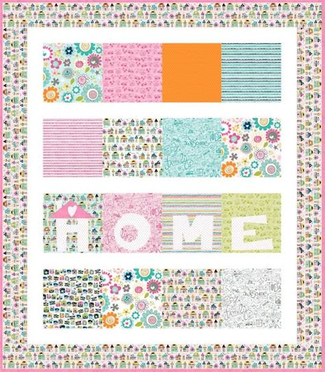 quilt pattern home sweet home free pattern home sweet home quilt by riley blake designs