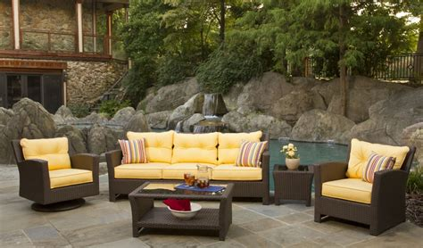 Yellow Patio Furniture Furniture Wicker Patio Furniture With Outdoor Wicker Furniture With Browse Wicker Patio Sets