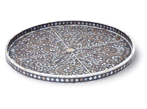 large round trays for ottomans extra large round ottoman tray round designs