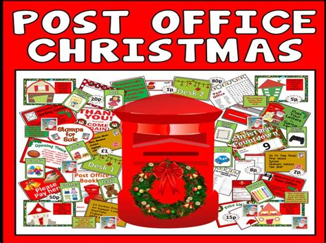 christmas post office role play teaching resources early