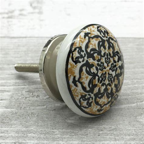 radiant ceramic door knob cupboard drawer door handle by g
